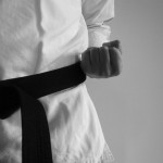 black-karate-belt